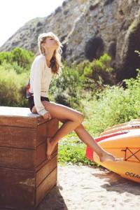 Красивые женские ножки.