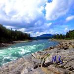 Сибирь, река Казыр фото и видео.
