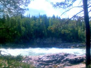 Сибирь, река Казыр фото и видео