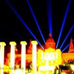 Достопримечательности Испании: поющие фонтаны в Барселоне.