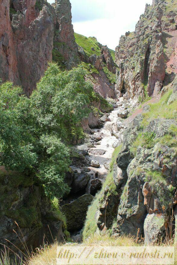 Приэльбрусье, Джилы - Су, Горы Кавказа, фото, Калинов мост