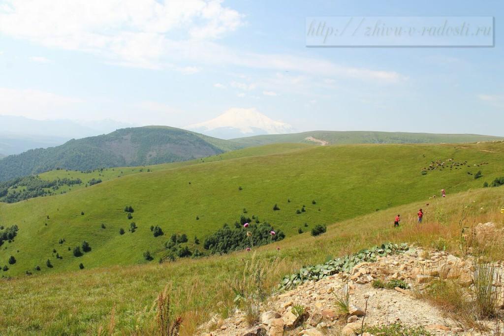 Приэльбрусье, Джилы - Су, Горы Кавказа, фото и видео.
