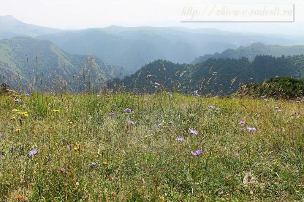 Приэльбрусье, Горы Кавказа