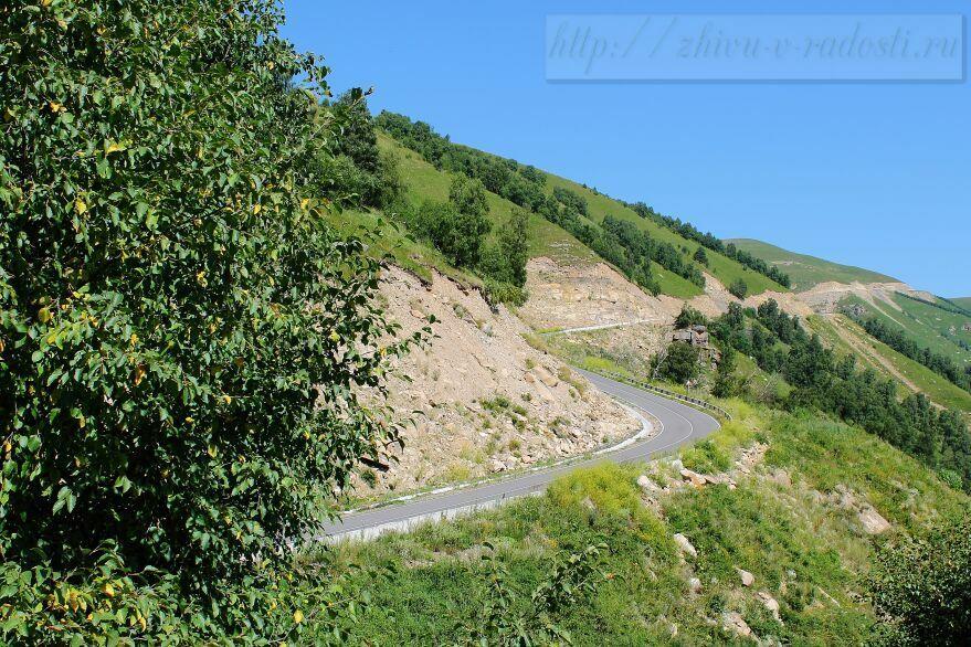 Приэльбрусье, Джилы - Су, Горы Кавказа, фото, дорога