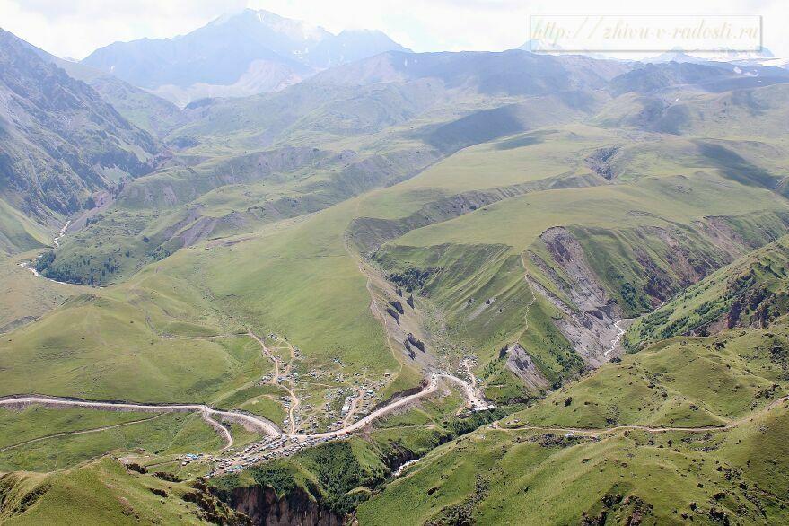 Приэльбрусье, Джилы - Су, Горы Кавказа, фото.