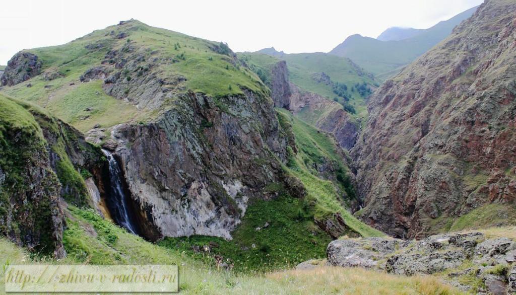 Водопад Эмир.