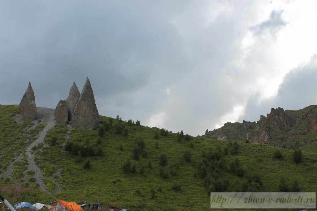 Приэльбрусье, Джилы - Су, Горы Кавказа, фото,